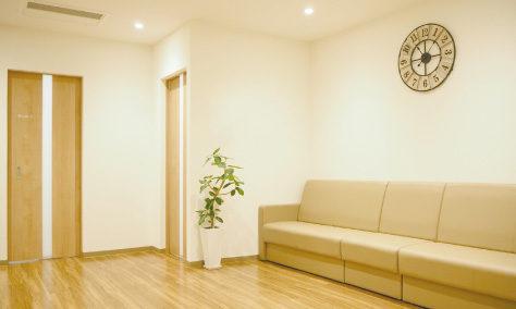 ルシアクリニック広島院の待合室